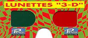 LES LUNETTES 3-D