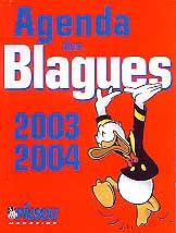 Agenda des blagues 2003-2004