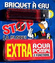 Briquet Aquagag