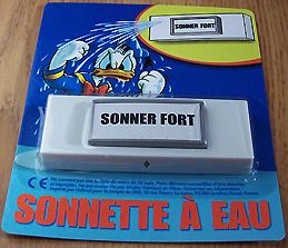 SONNETTE A EAU