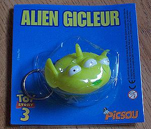 ALIEN CRACHEUR GICLEUR